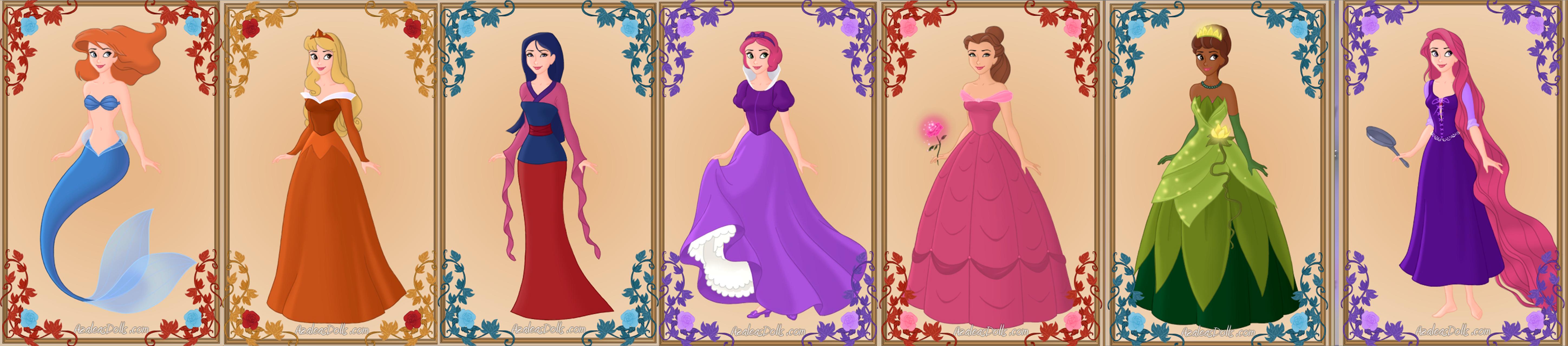 Winx club as disney princesses by percy annabeth99 on deviantart