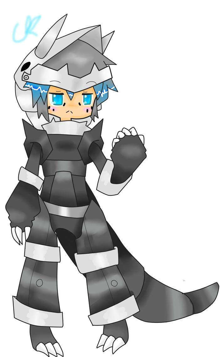 Kano Male Aggron Gijinka. by 1Apple-Fox1 on DeviantArt