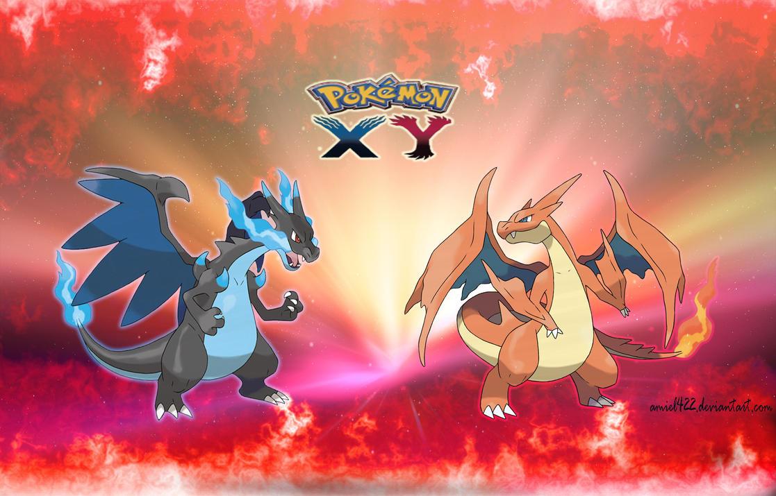 Mega Charizard~ Pokemon X and Y by amiel422 on DeviantArt  Mega Charizard~...
