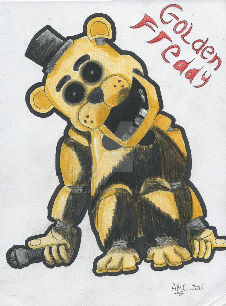 Five Nights at Freddy's - Golden Freddy by Megabitron