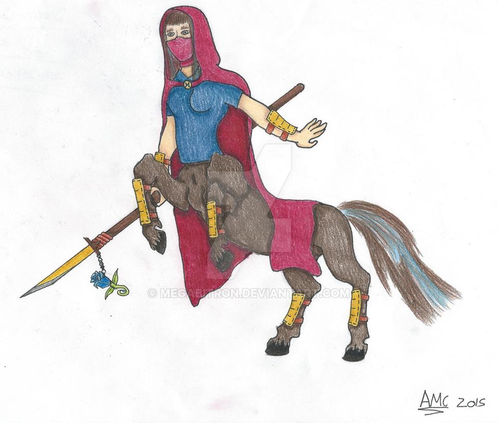 Blueangel Centaur by Megabitron