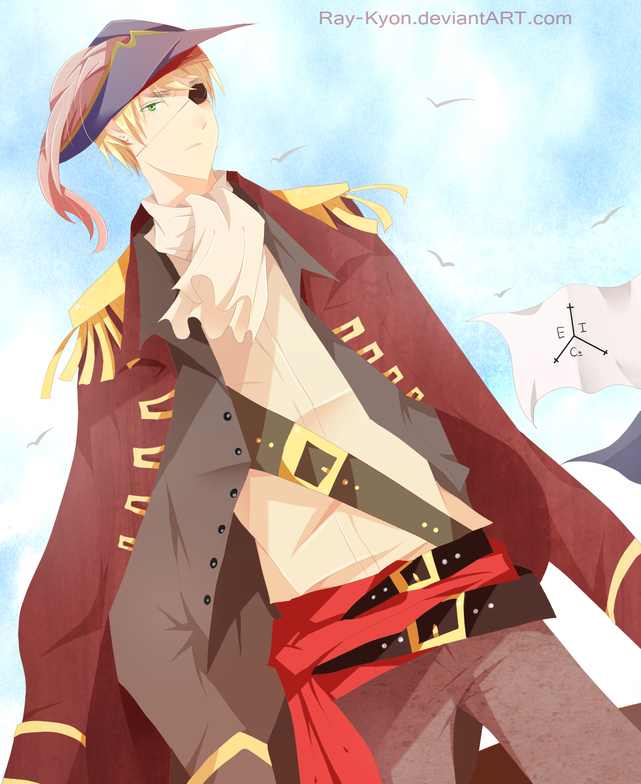 Pirate!England by Fricoritto