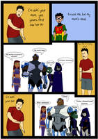 RWJ meets the Teen Titans by RantoJax