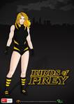 Birds of Prey Poster - Black Canary