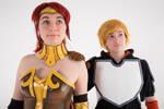 RWBY Cosplay - Jaune Arc and Pyrrha Nikos 4
