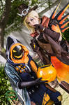 Overwatch - Ghoul Ana and Witch Mercy