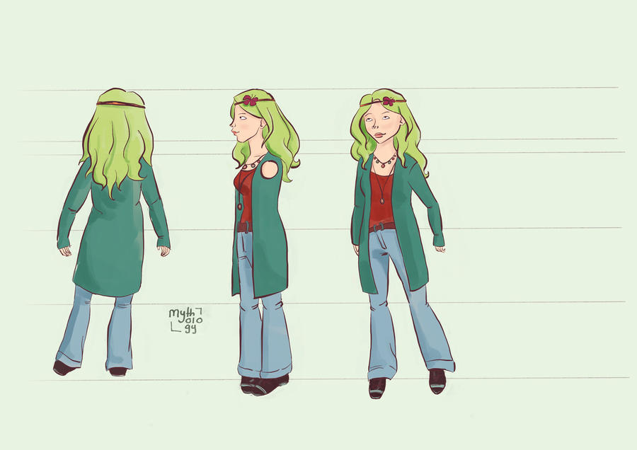 Thalie: Ghost Car Comics Character  by MBalaile
