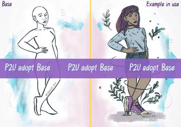 Hand on Hips Character P2U Base by MBalaile