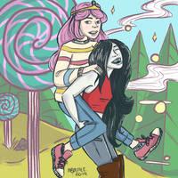 Bubble Gum And Marceline