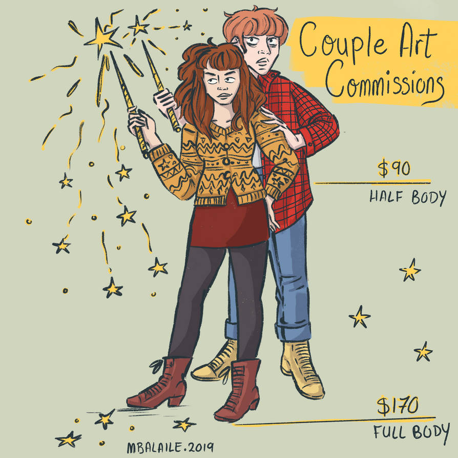 Couple Commissions Open!! by MBalaile