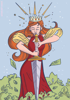 Fire Queen Honor Print