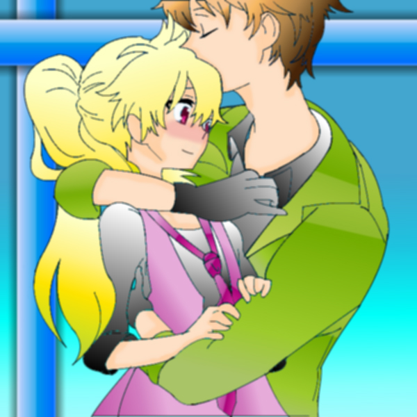 Sweet Couple by Shiningstarlight14
