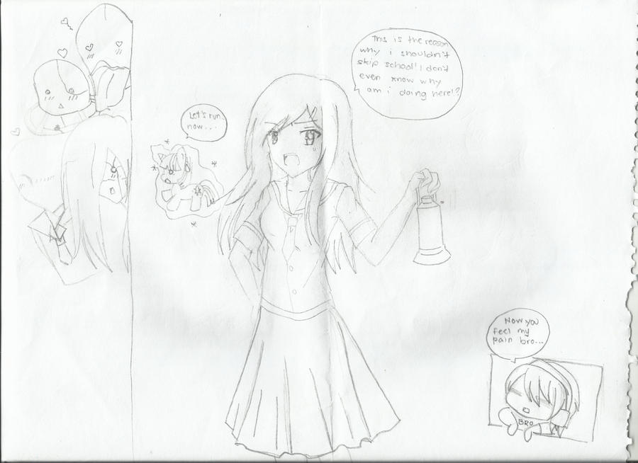 This is why I shouldn't skip school by Shiningstarlight14