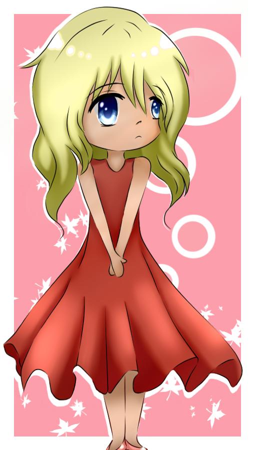 RED DRESS by Shiningstarlight14