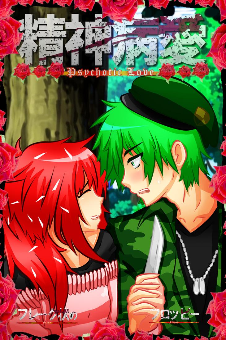 HTF: Psychotic Love (Comic Cover) by Shiningstarlight14