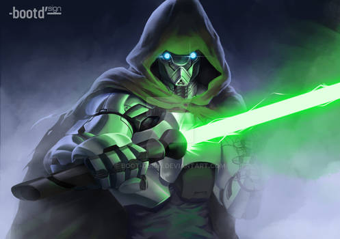 color study again. light saber.