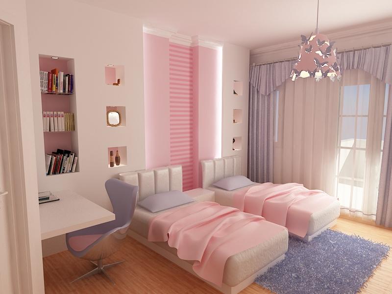 young girl bedroom