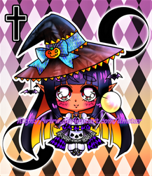 90s chibi Witch (Adoptable OPEN!!!)