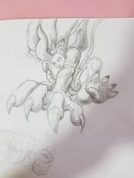 Felicia sketch by zaviour