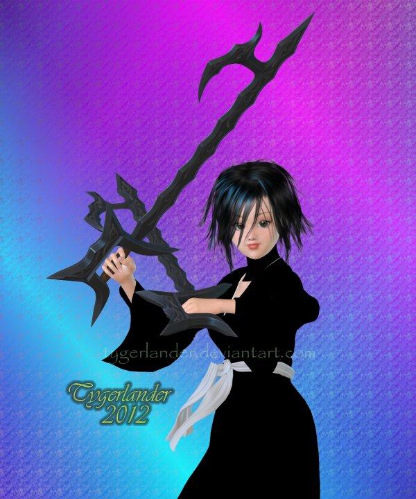Bleach OC: Katrina: True Shikai Form By Tygerlander On