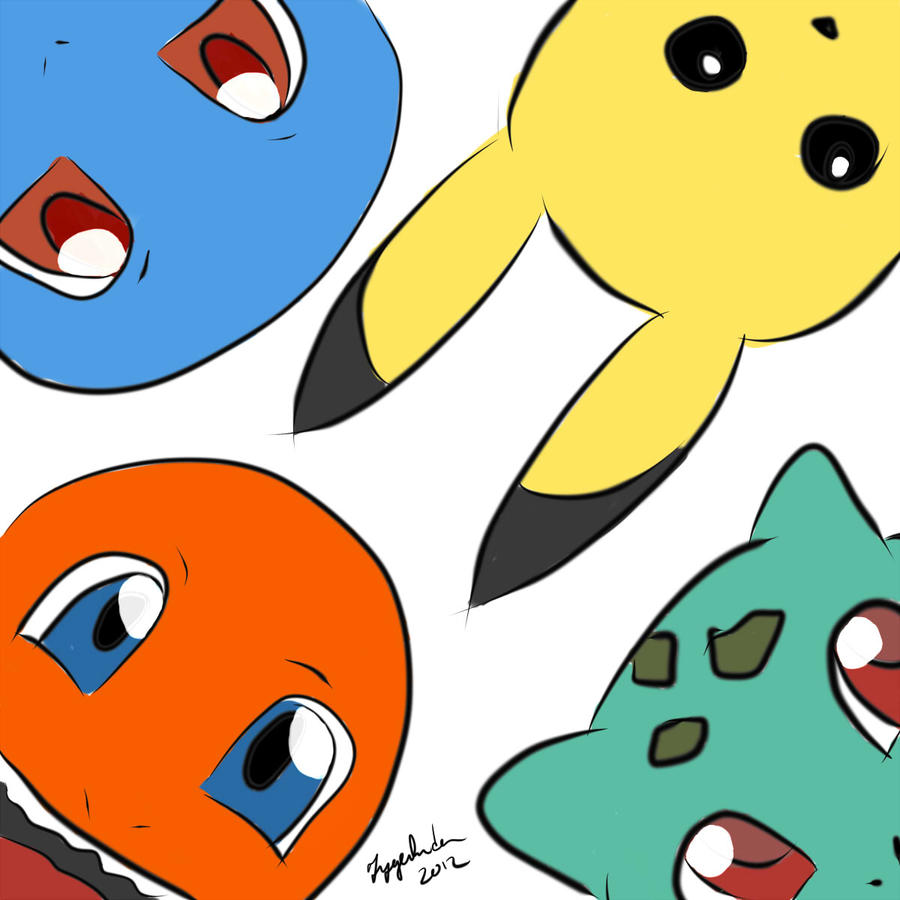 5 pokemon: