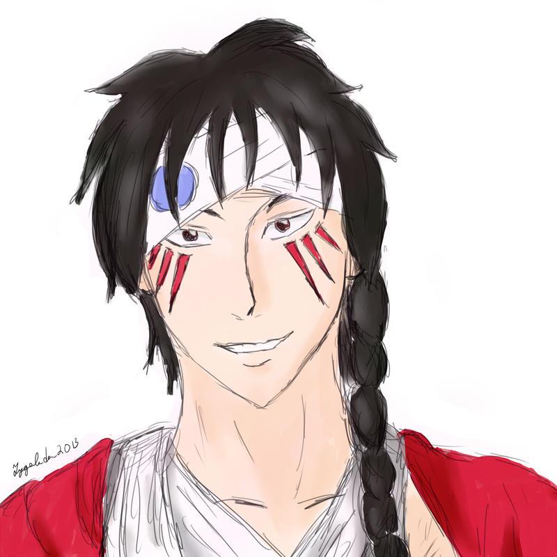 Aimaru Colored Bust Sketch By Tygerlander On DeviantArt