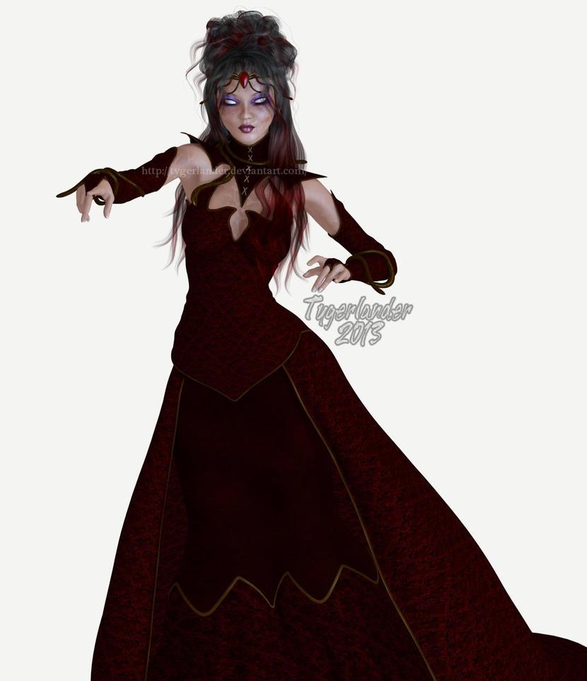 Toriko OC: Snake Princess Kimiko (preview) By Tygerlander