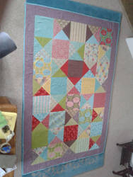 A Quilt that I made by ekwatt12