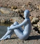 light blue color zentai