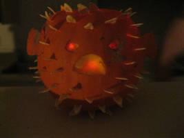 Blow Fish Pumpkin 2 by Eirianna