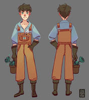 Gardener boy by Corade