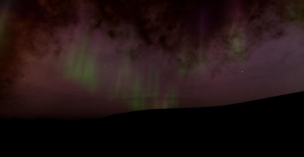 Aurora on a Distant Planet by bwortham10