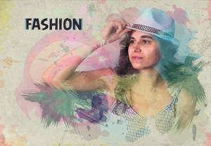 Fashion - Efecto acuarelas