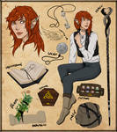 Ailin Character Design