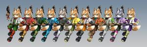 Fox Recolours [Smash 3]