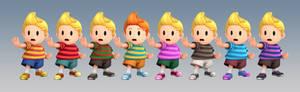 Lucas Recolours [Smash 3]