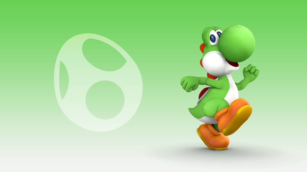 Yoshi Wallpaper [Smash 3] by ryo-10pa ...