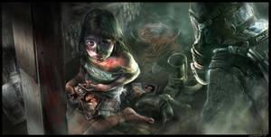 Global Epidemic promotion art by Mlenart