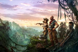 Robinson Crusoe Cover by Mlenart