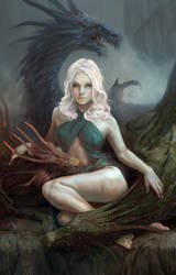 Mother of Dragons by Mlenart
