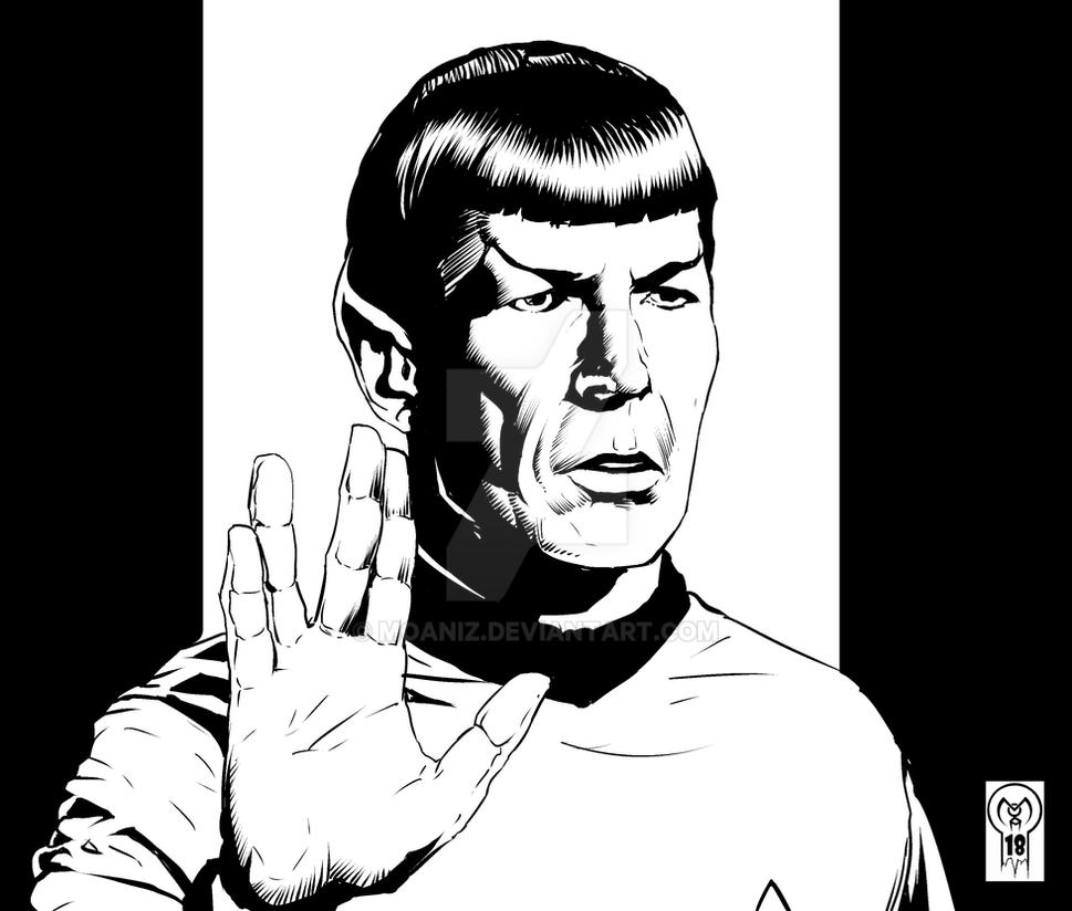 Spock by moaniz