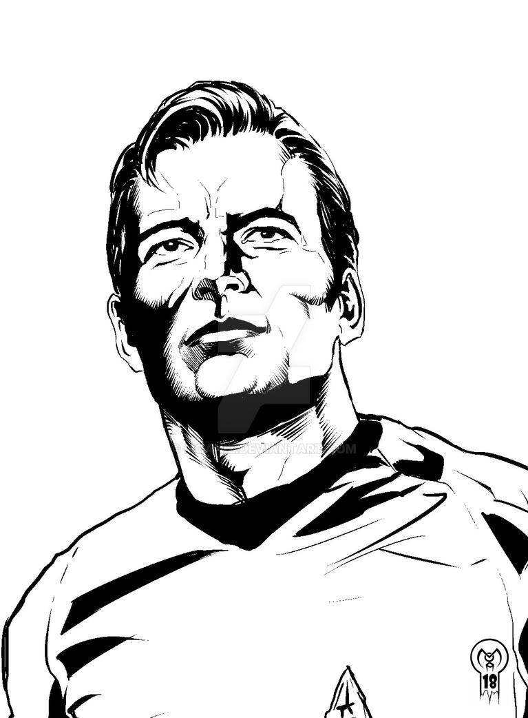 Capito Kirk by moaniz