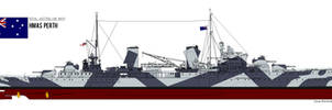 HMAS Perth by PhantomofTheRuhr
