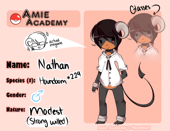 Amie-Academy: Nathan by seahorsies