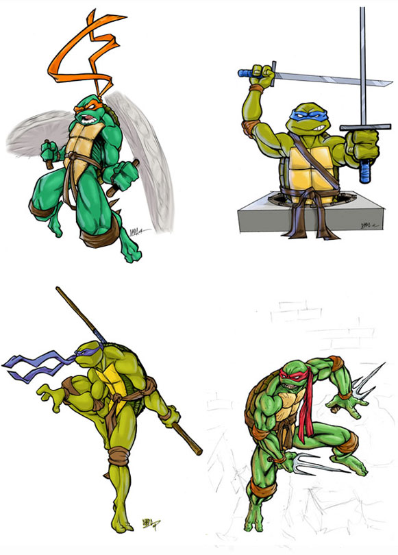 Ninja Turtles by Chadwick-J-Coleman