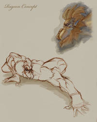 Ragoon Sketch by Chadwick-J-Coleman