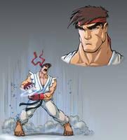 Ryu by Chadwick-J-Coleman