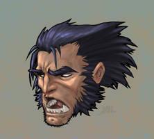 Wolverine Sketch Dump by Chadwick-J-Coleman