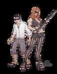 Vito and Naeda - commission
