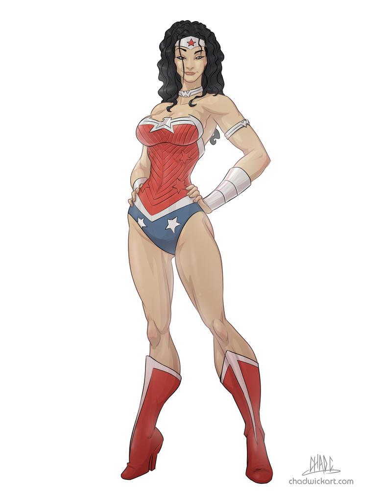 WonderWoman New 52- commission by Chadwick-J-Coleman